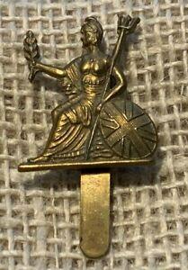 Royal Norfolk Battalion Cap Badge WW1