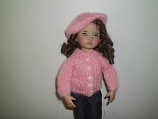 """NO DOLL DARLING  SWEATER & TAM FOR 13"""" EFFNER LITTLE DARLING FITS BETSY BLEUETTE"""