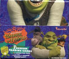 Shrek The Third Factory Sealed Hobby Box 36 Packs