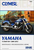 2009-2012 Yamaha VStar V-Star 950 CLYMER REPAIR MANUAL M284