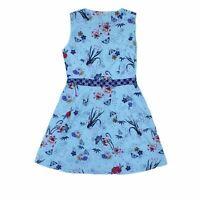 Uttam Boutique Women's Midi Dress 12 Colour:  Blue