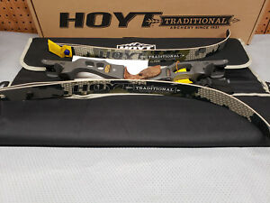 "Hoyt Satori Recurve 17"" Storm (New Color)Riser LH 45# Medium SubAlpine Limbs 60"""