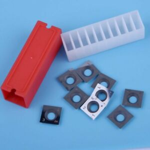 Square Carbide Inserts 4-Edge -15 X 15 X 2.5mm For Wood Working Turning-10x
