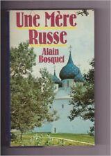 BOSQUET Alain - Une mère russe - 1978 - relié
