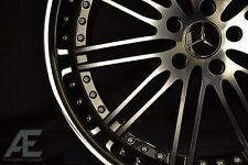 20-inch Mercedes S430 S500 S550 S600 Wheels/Rims Hennessey Diamond Cut