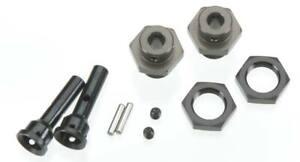 Tekno RC TKR1654-17 17mm M6 Driveshaft Hub Adapter Set Stampede/Slash 4x4 2WD