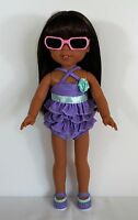 """DOLL SWIMWEAR SHOES SUN GLASSES FOR 14 """"WELLIE WISHERS DOLLS CLOTHES ACCESSORIES"""