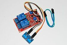 5v SW-420 Normally Closed 2-way shock sensor relay module vibration alarm A077