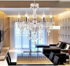 Crystal Chandelier Ceiling Lamp white Pandent Lamp