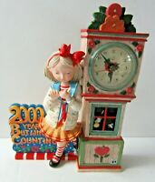 Mary Engelbreit Millenium 2000 Clock Hard To Find 2000 Years But Who's Counting