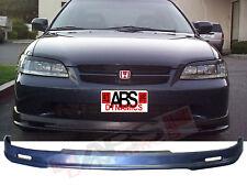 1998 2002 Honda Accord 4DR Sedan Mugen Front Bumper Lip Black Unpainted Non V6