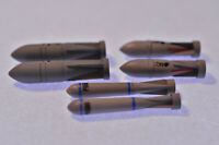 2x PD-250, SD-250, PD-500, Panzerdurc WWII, Deutsche Lw., ERSATZTEIL, Scale:1/48