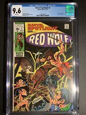 Marvel Spotlight 1 CGC 9.6 Origin of Red Wolf