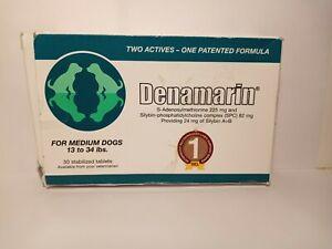 Nutramax Denamarin Medium Dogs 13-34 lbs 30 Stabilized Tablets