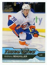 16/17 UPPER DECK YOUNG GUNS ROOKIE RC #220 ANTHONY BEAUVILLIER ISLANDERS *49723