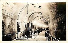 c1915 rppc postcard innenraum tunnel arrowrock dam boise id wasserkraft