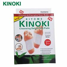 LOT of 10 BOXES (100pcs.) KINOKI FOOT DETOX PAD  FOOT PATCH as seen on TV