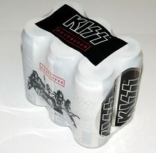 KISS Band Destroyer EMPTY Beer Can 6 Pack 2009 Aussie Australia Gene Simmons