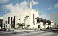 FL 1970's Florida First United Methodist Church on Biscayne Blvd. in Miami, FLA