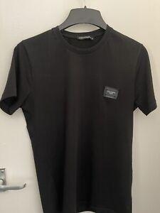 Dolce and gabbana t-shirt Black Small D&G