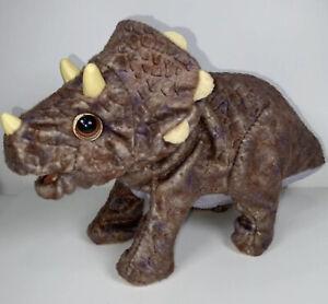 2008 Hasbro Playskool Dinosaur Triceratops Sound & Head Movement