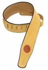 Levy's 2.5 Suede Strap with Black Piping - Tan