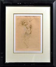 Marino Marini Cristo #13 Vintage Signed Original Lithograph framed  MAKE OFFER