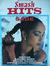 SMASH HITS 10/5/84 - SADE - DURAN DURAN - DAVID SYLVIAN - SHAKIN STEVENS