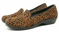Dansko OLIVIA Womens loafers Shoes Size 36 6 Hair Leather Leopard smoking flats