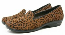 Dansko OLIVIA LOAFERS Womens Shoes size 36 5.5 6 hair on hyde Leather leopard