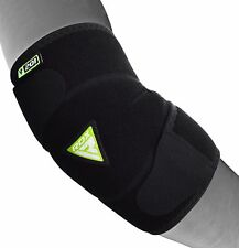 RDX Elbow Support Brace Guard Sleeves Arm Pads Straps MMA Wrap Gym Bandage AU