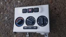 VAUXHALL ZAFIRA GSI TURBO HEATER CONTROL PANEL SILVER A MODEL Z20LET