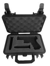 Pelican 1170 Case Custom Foam Insert for Glock 19 Gen 5 & Magazines (Foam Only)