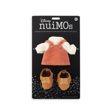 Disney NuiMOs Outfit Orange Overalls with Sweater and Boots New with Card
