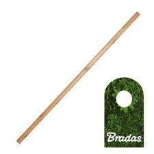 Spatenstiel Grabegabel Spatengabel Stiel Holzstiel gerade 28x1050mm BRADAS