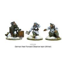 German Heer Forward Observer Team (Winter) Bolt Action Warlord Games 28mm