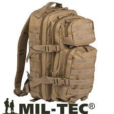 Zaino Assalto 30 Litri Militare Molle MilTec DESERT TAN Softair campeggio escurs