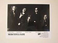 Mercyful Fate Original Press Photo / Photograph