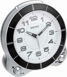 BRAND NEW Seiko Akiko Quiet Sweep Alarm Clock QHK031SLH