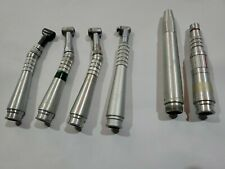 Lot Of 6 Dental Handpieces Midwest Shorty Teledyne Densco