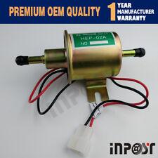 HEP-02A 12V Gas Diesel Inline Low Pressure Electric Fuel Pump