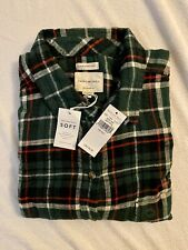 NEW WOMENS AMERICAN EAGLE OUTFITTERS AMAZINGLY SOFT BOYFRIEND PLAID SHIRT XXL
