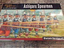 Ashigaru Spearmen Pike and Shotte Set War Models Warlord Games New! Samurai &