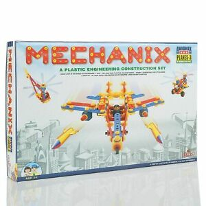 Mechanix-Planes-3 DIY,Educational,Learning,Stem,Building And Construction Toys