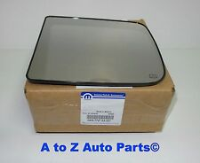 NEW 2010-2017 Dodge Ram 1500-5500 DRIVER SIDE Trailer Tow Mirror GLASS, OEM