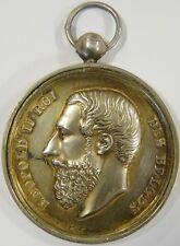1877-BELGIUM SILVER MEDAL