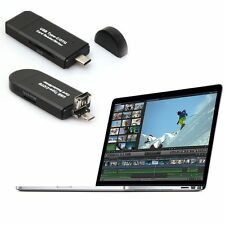 3in1  SD Writer USB 2.0 OTG Adapter Card Reader USB-C Type C for Macbook