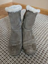 Women's White Mountain Ankle Boots Size 8 Light Brown