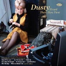 DUSTY HEARD THEM HERE FIRST  CD NEW+ - THE VELVELETTES, MARGIE HENDRIX, THE CITY