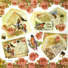 Rice paper Decoupage Scrapbooking Sheets Craft Post Card